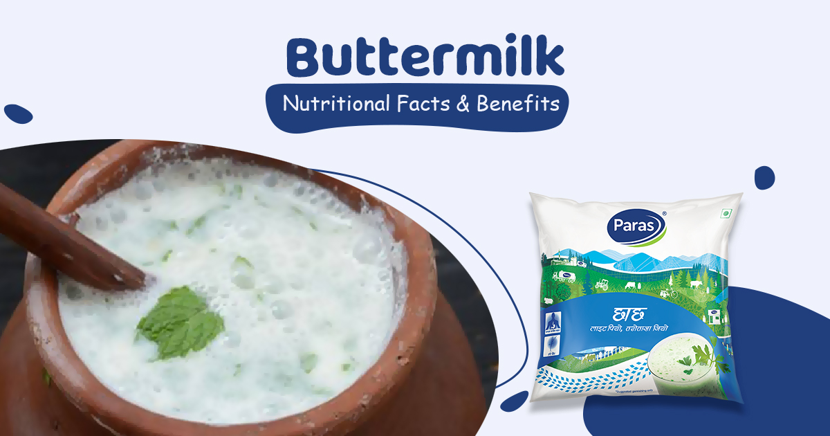 Buttermilk: Nutritional Facts and Benefits